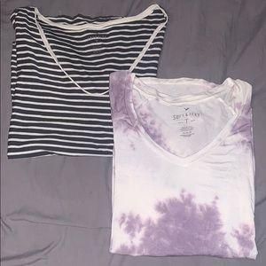 Bundle of American Eagle T Shirts
